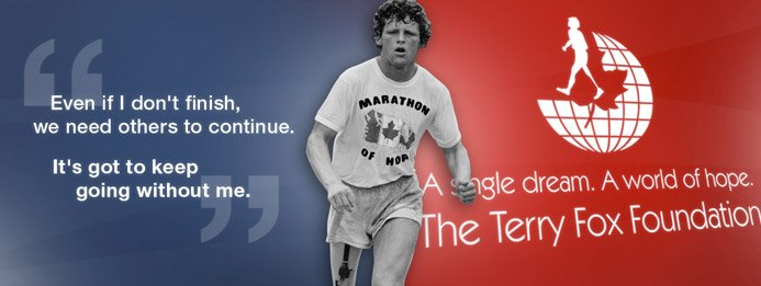 Terry Fox Run celebrates 36 years of fun and hope Sept 18.