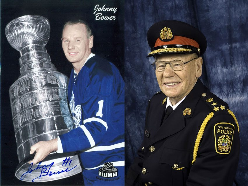 Hockey Hall of Famer and longtime Mississauga resident Johnny Bower passes away