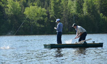 Fun for the fishing fan at Franklin Club