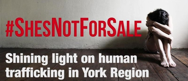 #ShesNotForSale demands action on human trafficking