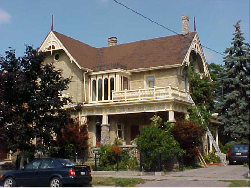 6114 Main St. has been home to many town notables over the years
