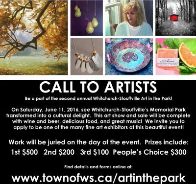Art in the Park June 11