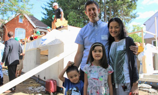 Habitat for Humanity rolls up sleeves in Stouffville