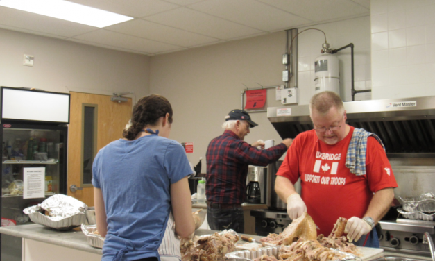 Volunteers cook and deliver hundreds of Christmas meals annually