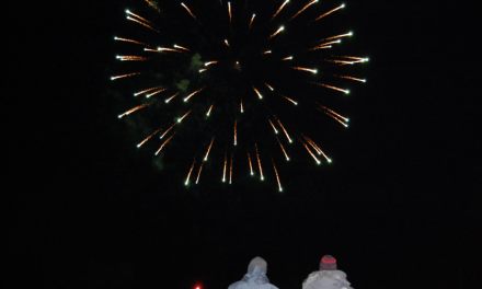 Frostfire fireworks light up town sky at local family event