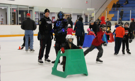 Community meets for fun skating party