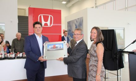 Local Honda dealership celebrates grand opening