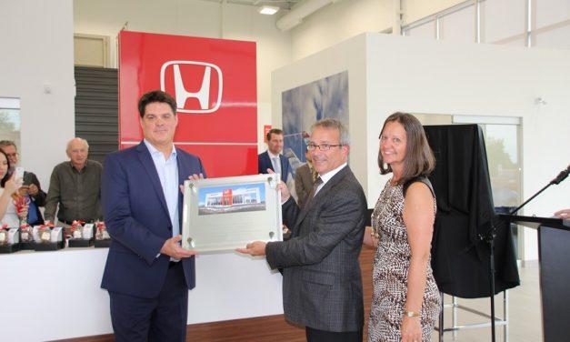 Local Honda dealership celebrates grand opening