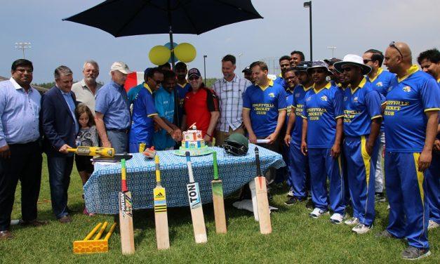 Stouffville Cricket Club enjoys new pitch