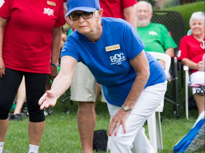 Ballantrae Summer Games paint the community Red…Yellow, Blue, Green and Purple