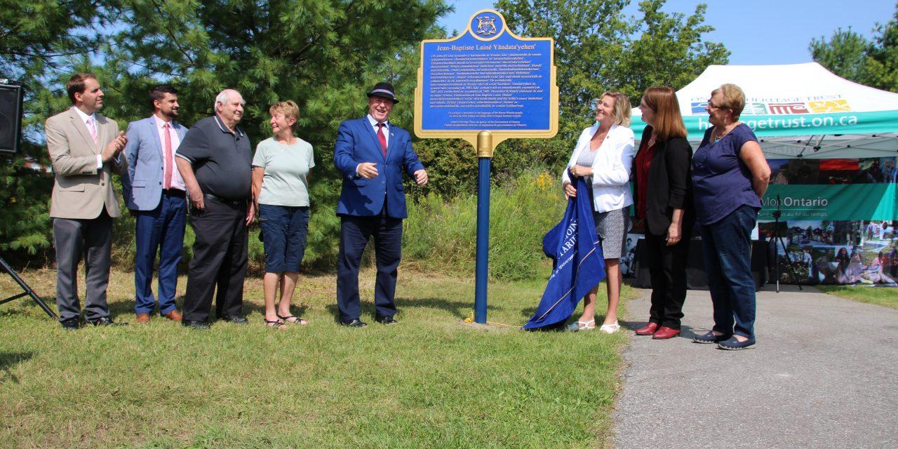Huron-Wendat Nation recognized
