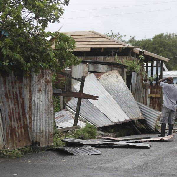 EIC helps Barbuda families in need