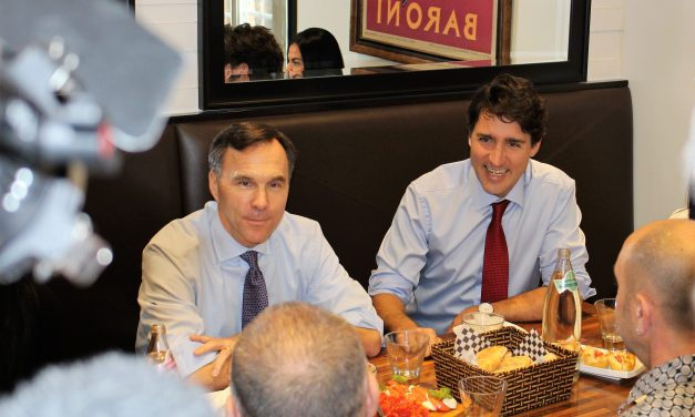 Trudeau unveils new tax plans while visiting local restaurant