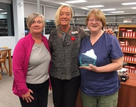 Library awards Family of the Year honours