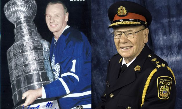 Hockey Hall of Famer and longtime Mississauga resident Johnny Bower passes away
