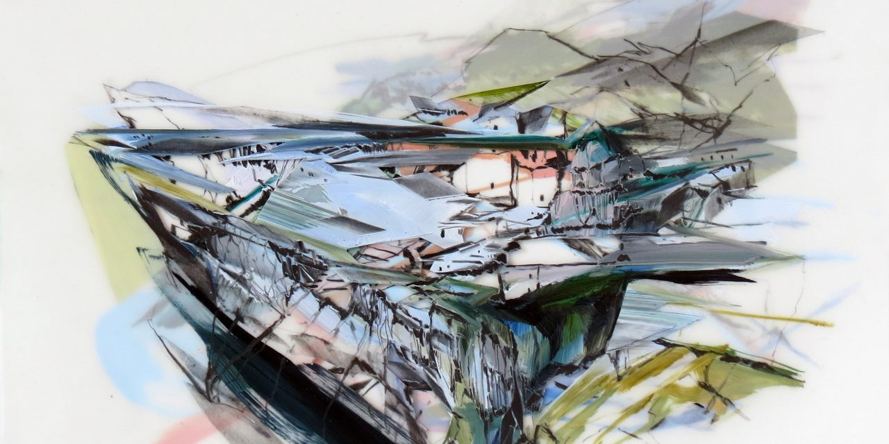 Artist reflects on time spent in ancient cave town