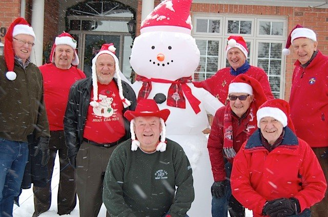 Frosty the Snowman spotted multiple times in Ballantrae