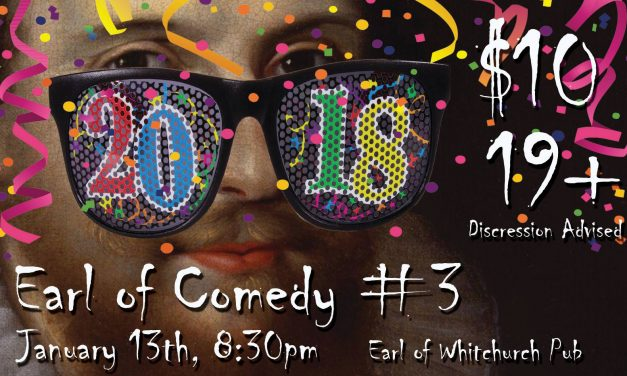 Laughs on the menu at the Earl of Comedy