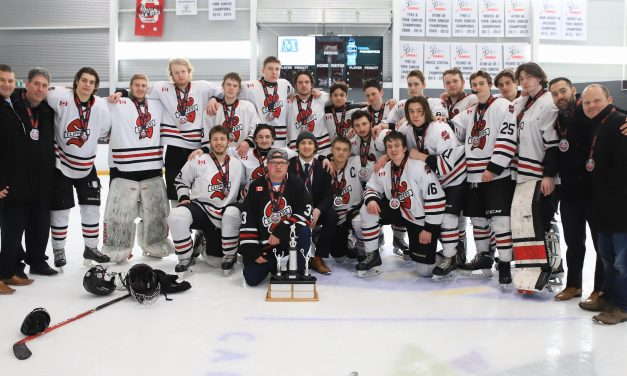 Clippers Midget AA takes silver at OMHA Championship Finals