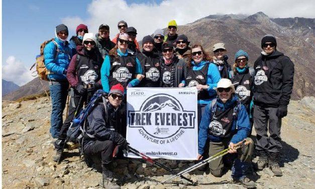Markham Stouffville Hospital team triumphant in summit to Everest base camp
