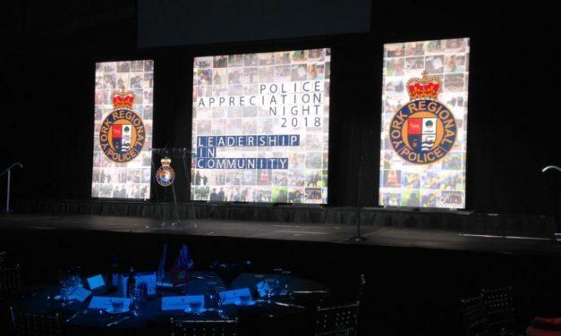 Police Appreciation Night honours heroes, leaders