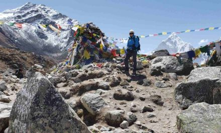 A triumphant journey to Everest Base Camp