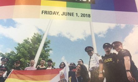 York Regional Police raise Pride flag