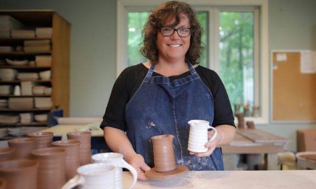 Handcrafted pottery at the Stouffville Studio Tour