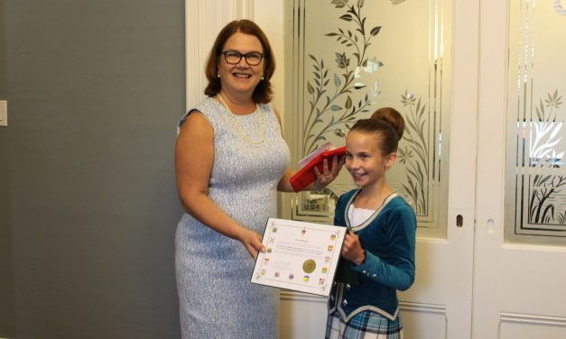 Highland dancer recognized by local MP