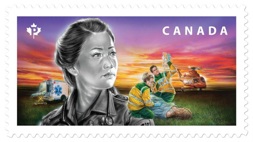 New stamps honour emergency responders