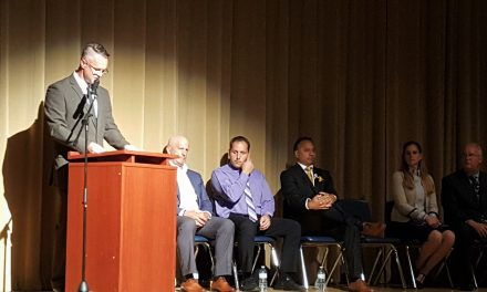 First all-candidates debate a popular event