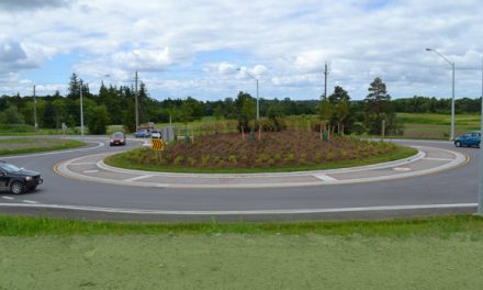Town launches roundabout etiquette campaign