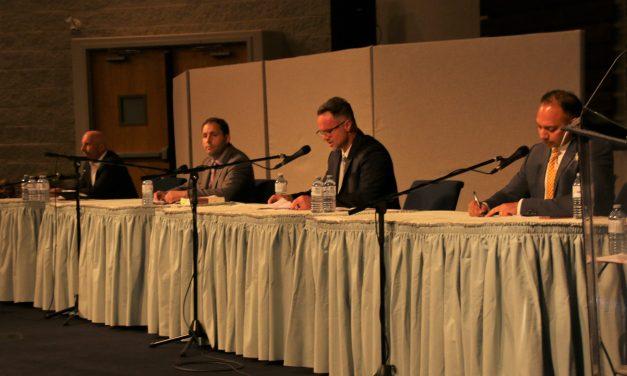 No knockout punches at final mayor debate