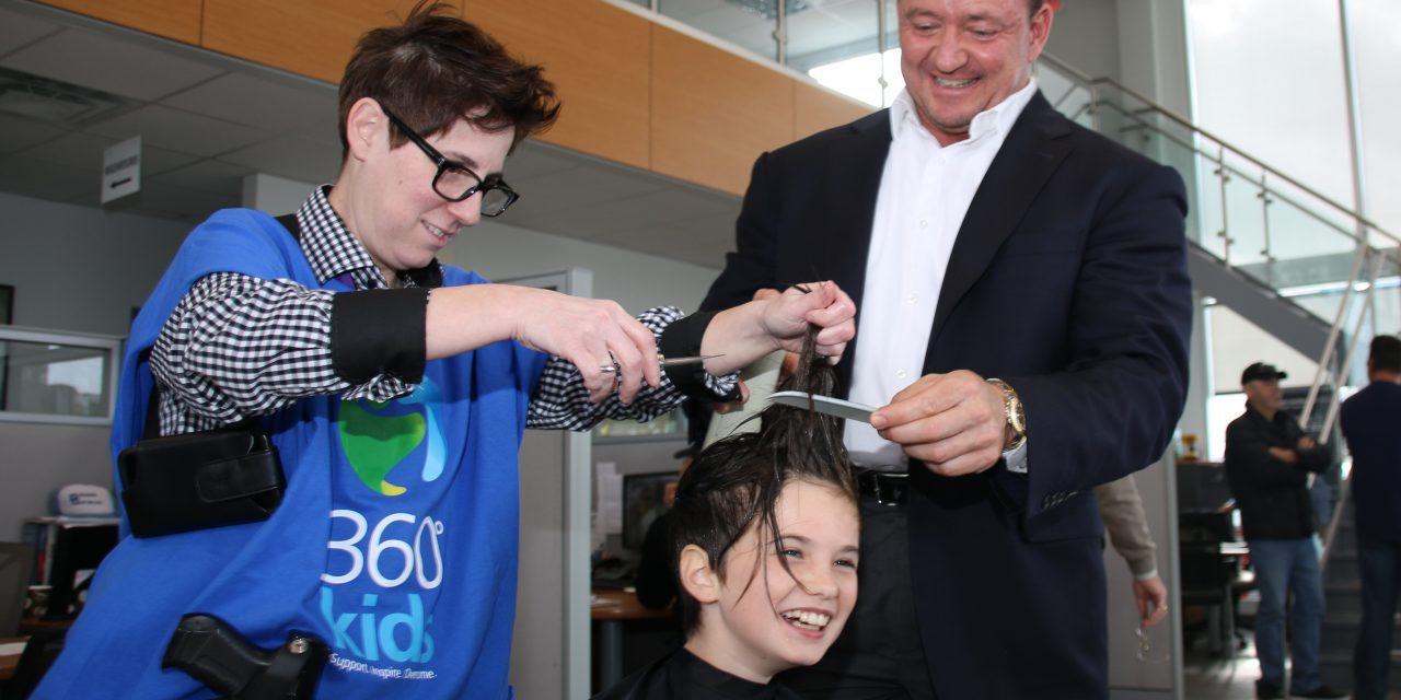 360°kids benefits from local cut-a-thon