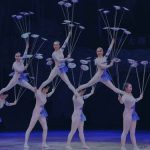 Stunning feats of strength and flexibility