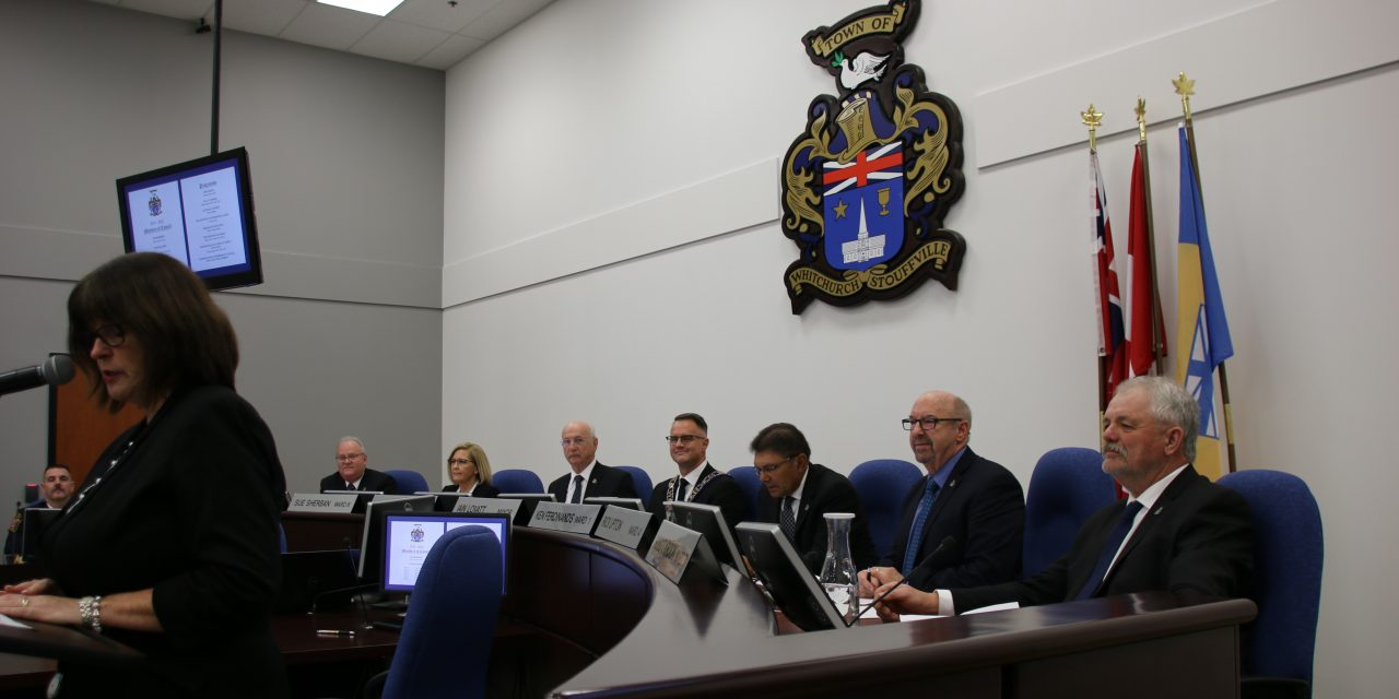 New mayor and council sworn in