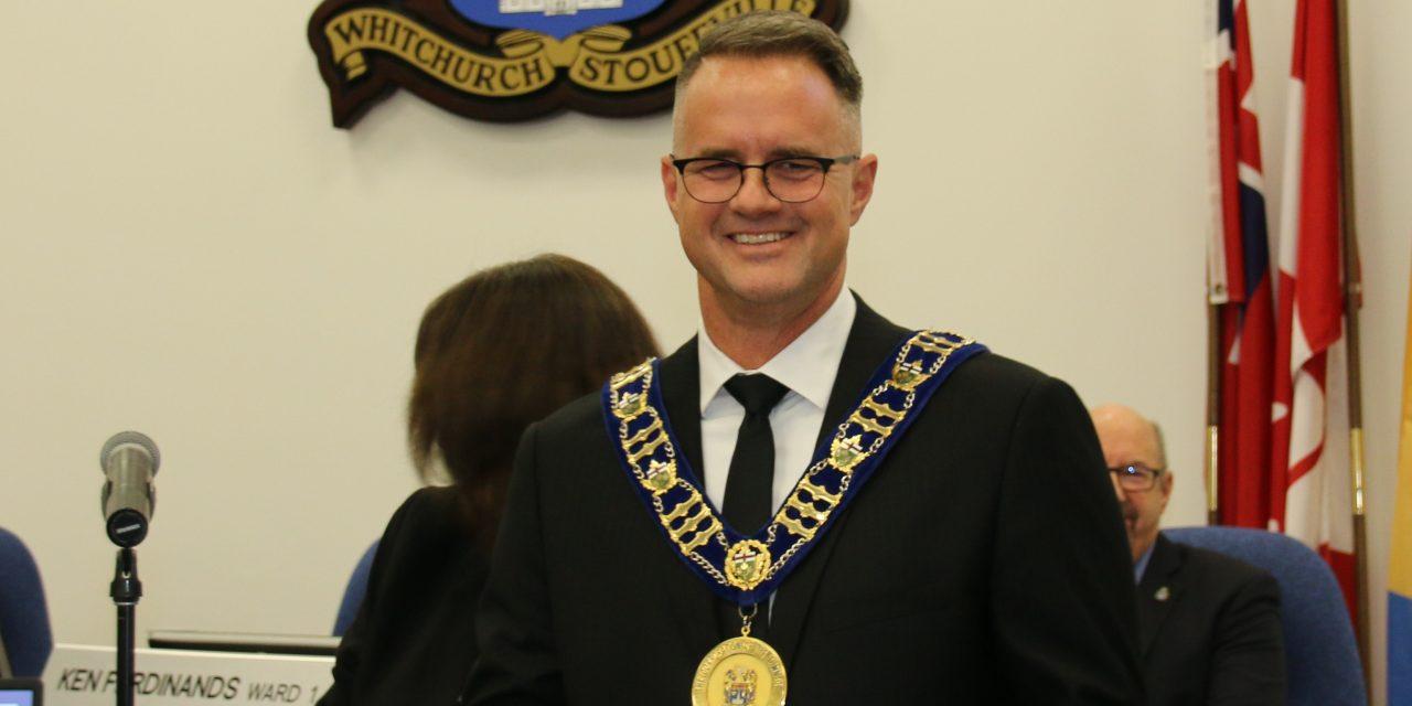 Mayor Lovatt's inaugural address