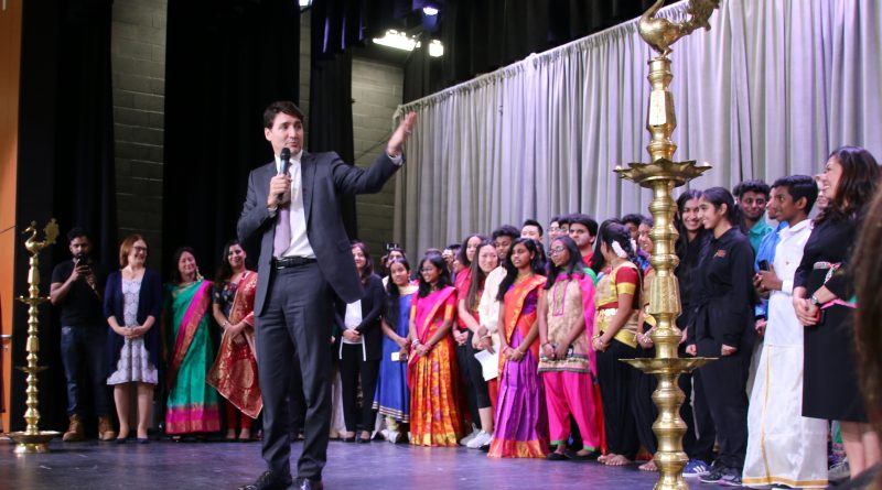 Trudeau marks Tamil heritage in Markham