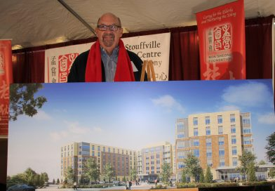 Rick Upton excited about developing town's 'backbone'