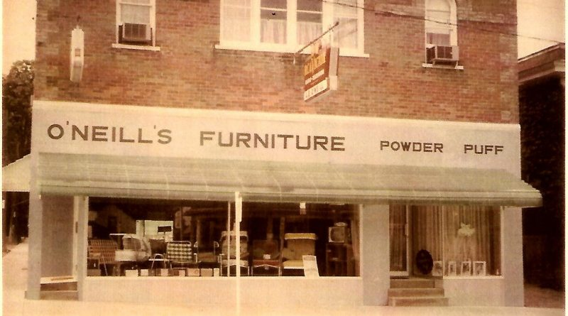 The odd history of funerals and furniture at 6324 Main St. – O'Neill's Funeral Home