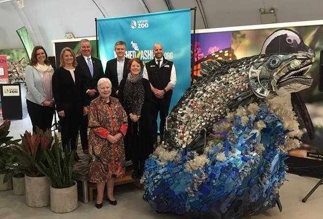 Exhibit highlights the impact of plastic pollution