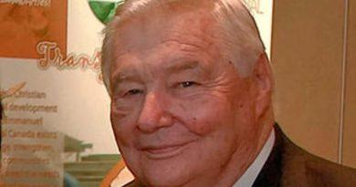 Emmanuel International founder dies at 93