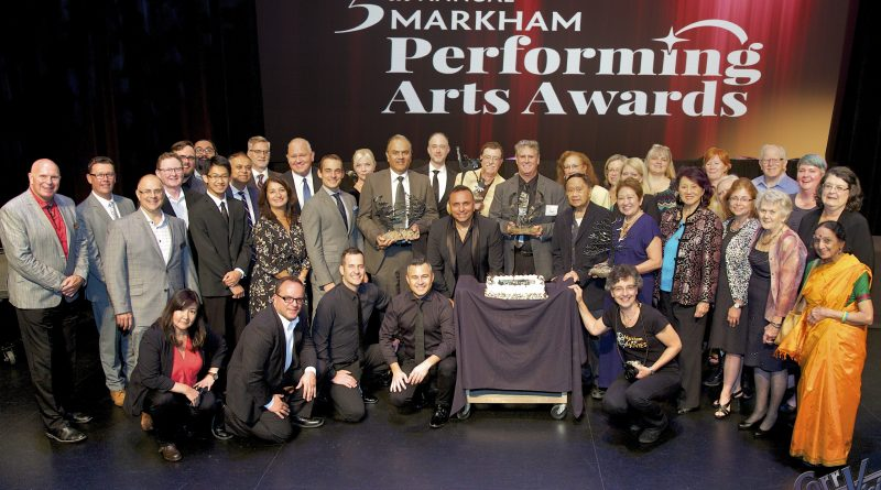 Winners honoured at the fifth annual Markham Performing Arts Awards
