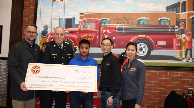 Fire department welcomes funding