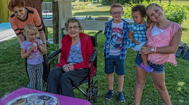 Family most important factor for local centenarian