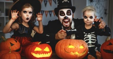 Have a spooktacular Halloween at home
