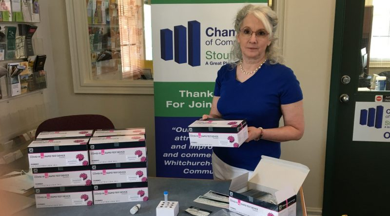 Free rapid test kits for local businesses