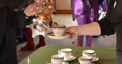 Annual Victorian Tea and intriguing programs at the museum